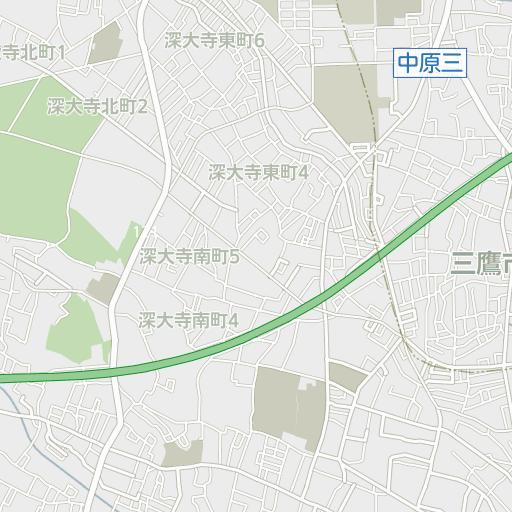 三鷹市 ハザードマップ 地震