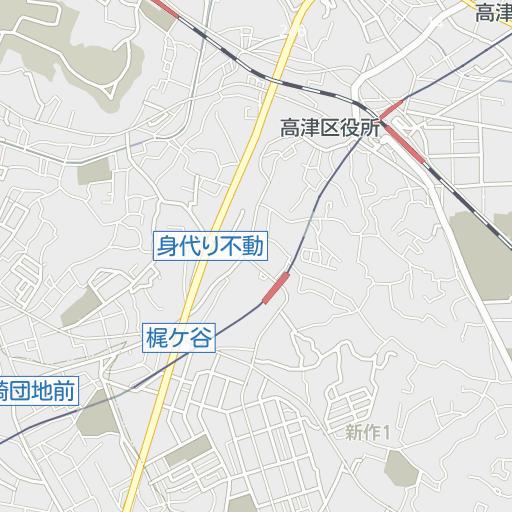 高津区 ハザードマップ