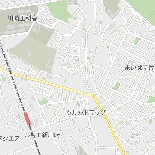 市 マップ 川崎 ハザード